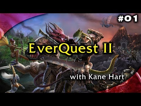 EverQuest 2 - Part 1 - Getting Started - Character Creation - Shadowknight - Neriak Starting!
