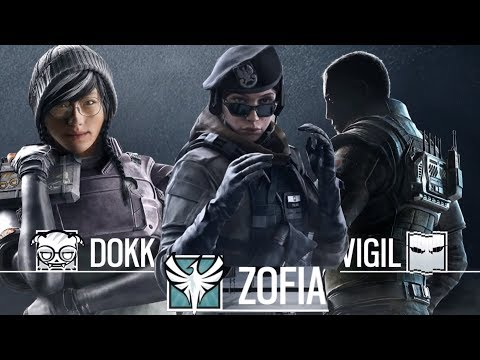 Rainbow Six Siege Operation White Noise Gameplay Zofia Vigil Dokkaebi Weapons gadgets abilities