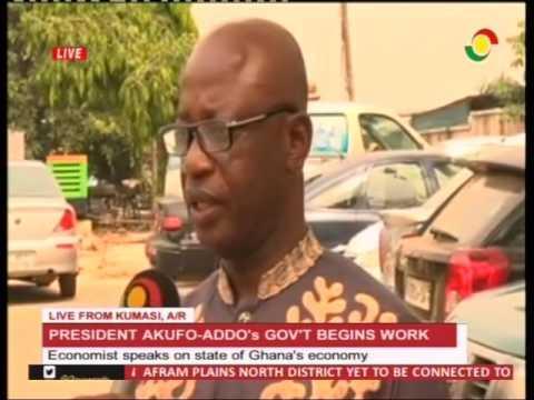 Economist speaks on state on Ghana's economy - 9/1/2017