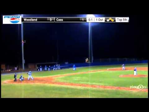 Varsity Baseball Woodland At Cass