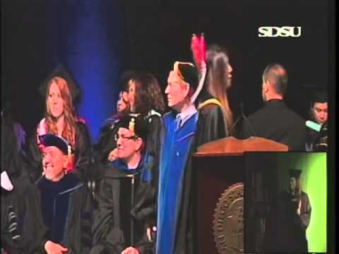 SDSU Commencement 2014 - College of Education