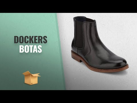 Dockers 2018 Mejores Ventas: Dockers Mens Ashford Leather Dress Chelsea Boot