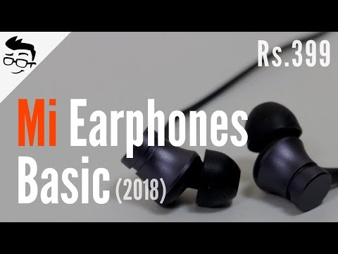 New Mi Earphones Basic Review & Unboxing (2018) 💸🔥 Hindi | Giveaway