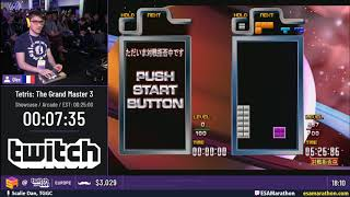 Tetris: The Grand Master 3  Showcase  By Qlex - Esa Twitchcon Eu Marathon 2019