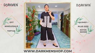 Костюм женский больших размеров DARKWIN от DARKMEN Турция Стамбул Оптом от производителя