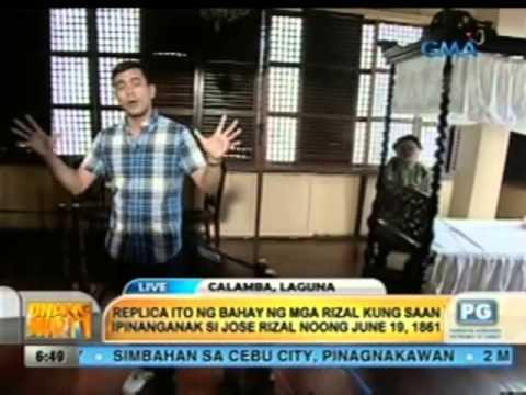 Unang Hirit: Tour sa Bahay ni Dr. Jose Rizal