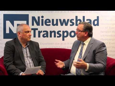 Nieuwsblad Transport / Rode Sofa / Henk Kammeraat, directeur Benelux van UPS