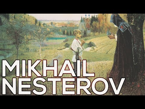 Mikhail Nesterov: A collection of 133 paintings (HD)