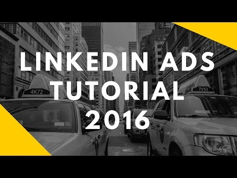 How to create LinkedIn Ads from scratch step by step 2016