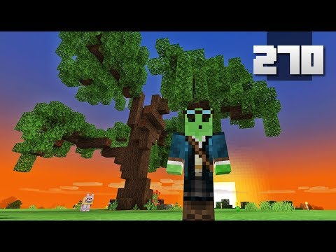Let's Play Minecraft - Ep.270 : Realistic Tree/Garden