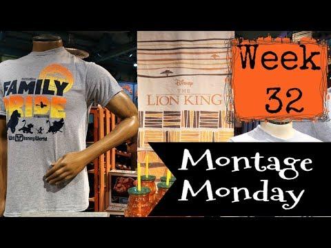 Download Walt Disney World Lion King Merchandise Montage