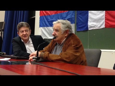 Conférence/Conferencia Jean-Luc Mélenchon-Jose Mujica (VOSTFR)