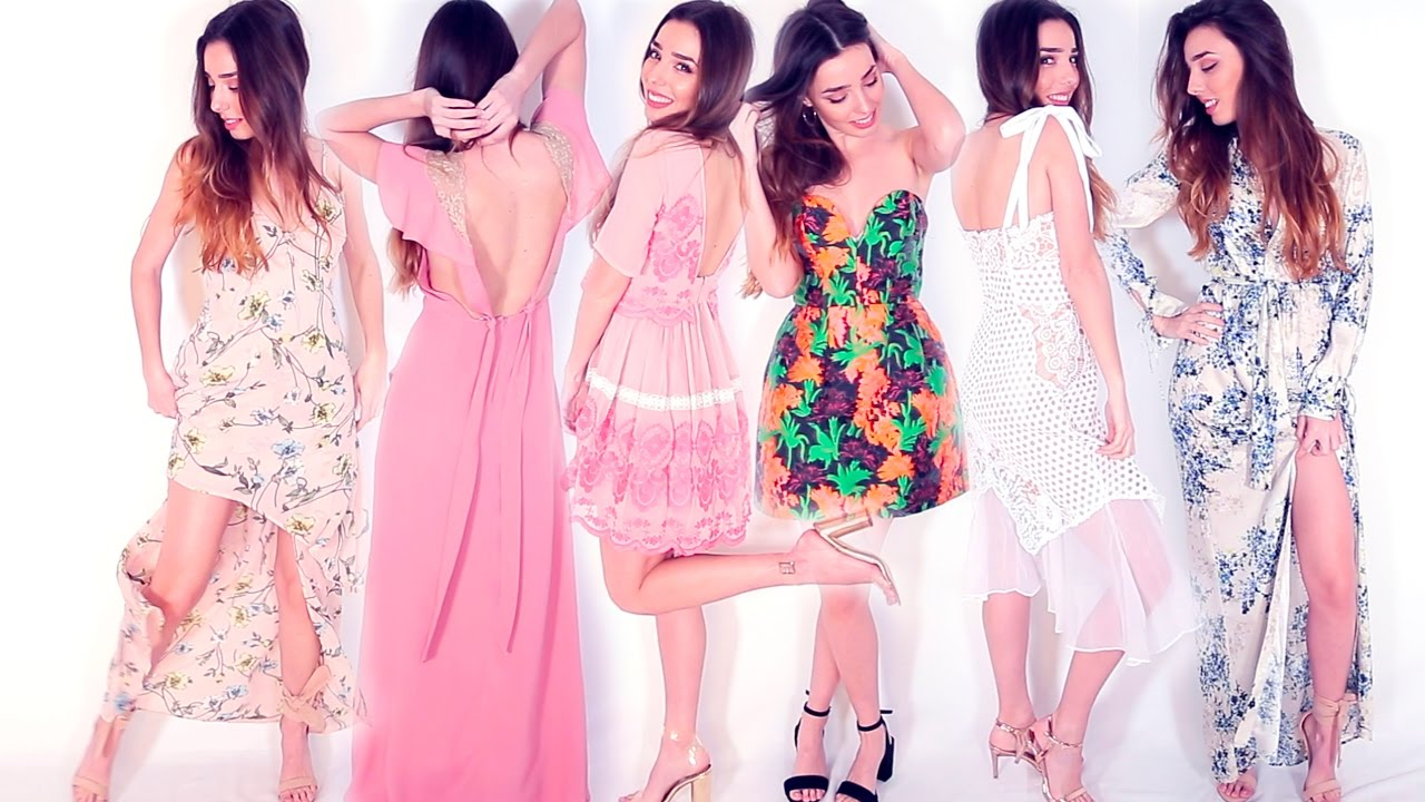 10 IDEAS para vestir en una GRADUACIÓN, BODA... OCASIONES ESPECIALES || OUTFITS FIESTA