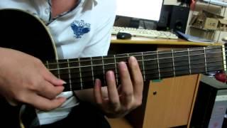 Guitar hướng dẫn: Intro Tình khúc vàng- tông Đan Trường- bản đơn giản :)