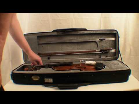 Stentor Conservatoire Violin Outfit unboxing