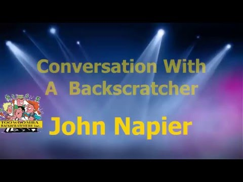 John Napier - Conversations with the Backscratchers
