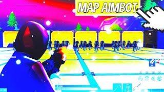 KONTAKT ITS SHOOT AUF FORTNITE MIT MA MAP AIM !!! 👊