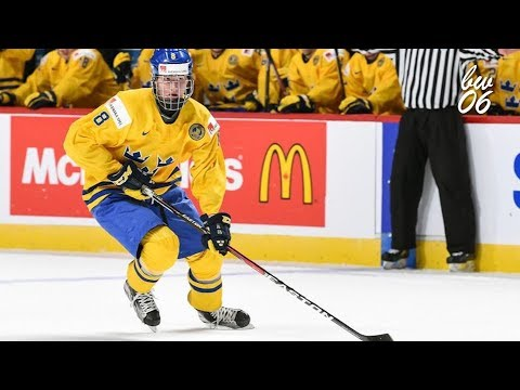 Rasmus Dahlin 2018 IIHF WJC Highlights