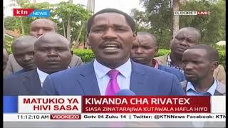 Rais Kenyatta atarajiwa kuzuru mji wa Eldoret kuzindua  Kiwanda cha Rivatex upya