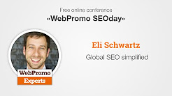 Global SEO simplified by Eli Schwartz