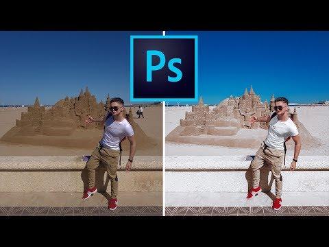 Цветокоррекция в Фотошопе для Начинающих. Урок 1. Обработка фото для Инстаграм