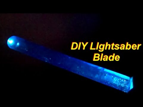 How to Make a Simple DIY Lightsaber Blade with a ...