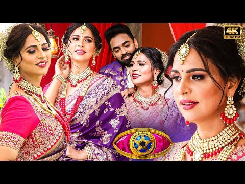 😍Bigg Boss 5 Namitha Marimuthu's Best Ever Bridal Makeover Photoshoot With Mr. India Gopinath