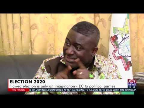 Election 2020 - The Probe on Joy News (25-10-20)