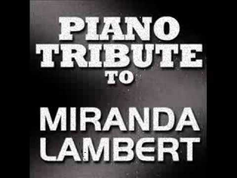 The House That Built Me Miranda Lambert Piano Tribute Youtube