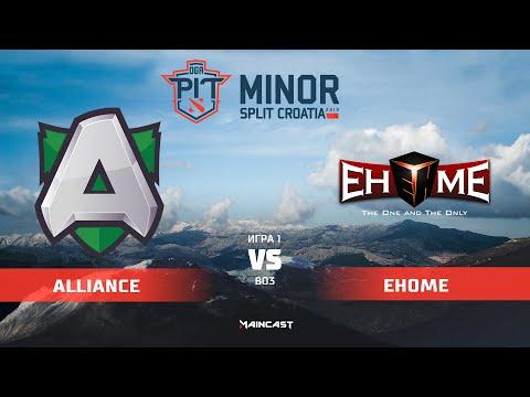 Alliance vs EHOME - OGA Dota PIT Minor - Game 1