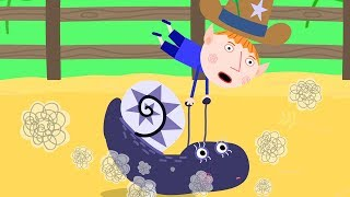 Ben and Holly's Little Kingdom | Miss Jolly's Snail Riding Club | Cartoon for Kids