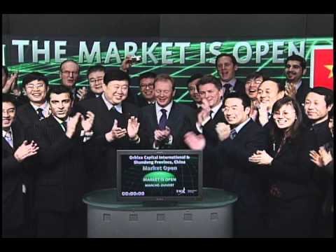 Orbixa Capital International and Delegates from Shandong Province open Toronto Stock Exchange