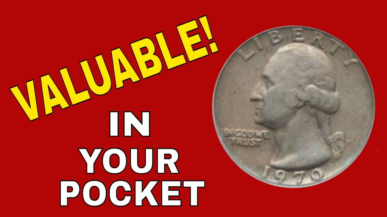 Check your change for this quarter worth money! 1970 quarter you should  know about!