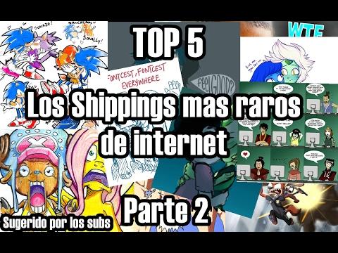 Top 5 Los Shippings mas raros de Internet parte 2 (Sugerido por los subs)