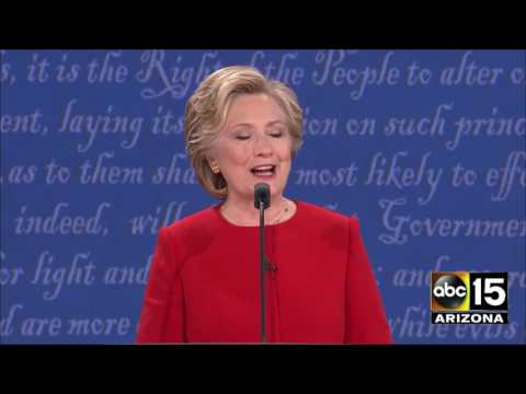 DT: You've been doing this for 30YRS - 2016 Presidential Debate - Donald Trump vs. Hillary Clinton