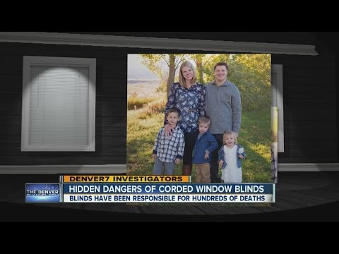 Hidden dangers of corded window blinds