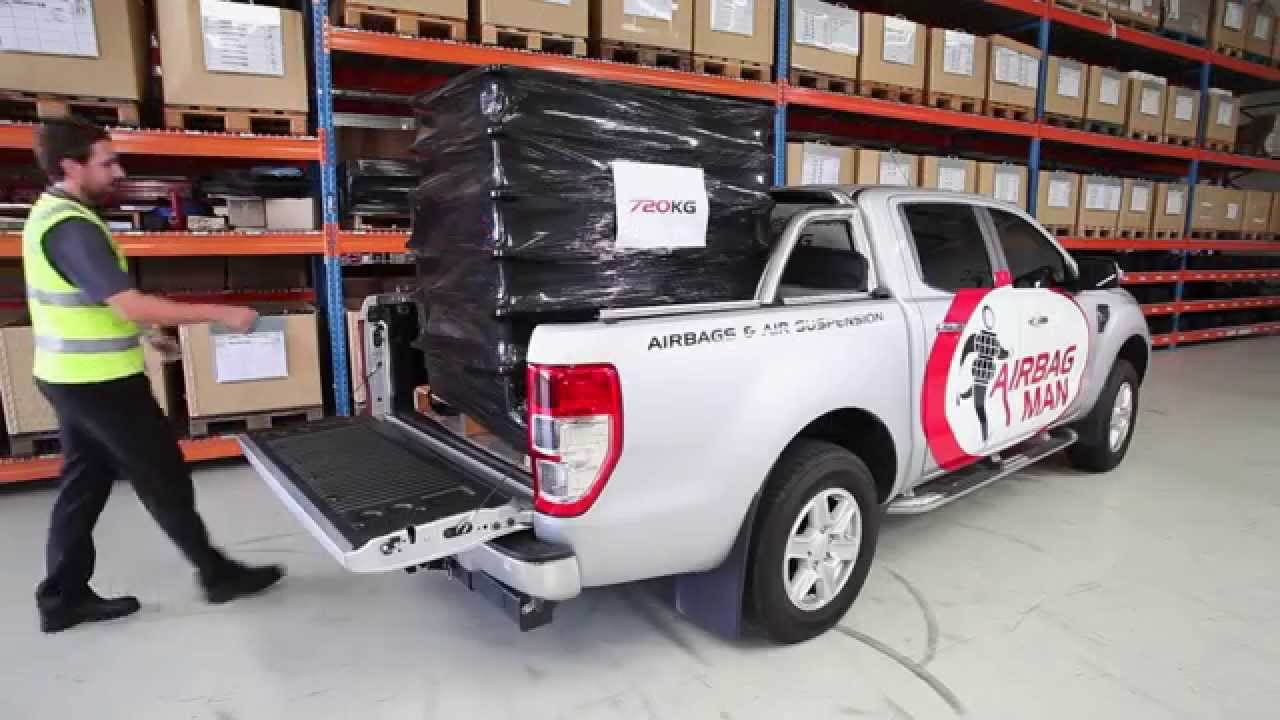 product review ford ranger px air suspension rr4634 airbag man