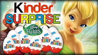 ♥ 20 Kinder Surprise Eggs Disney Fairies Pirate Fairy, Vidia, Tinker Bell Überraschungseier