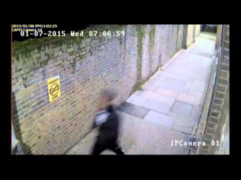 CCTV footage showing Hackney teenager Jeremie Malenge being chased and attacked