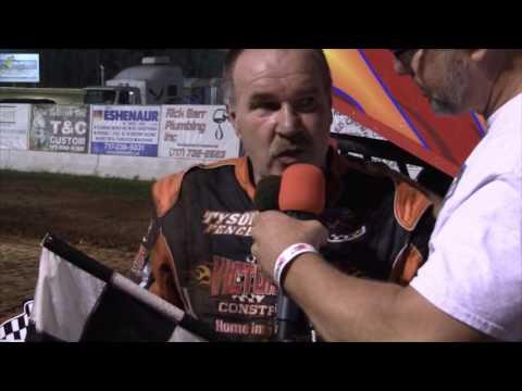 Susquehanna Speedway Super Sportsman Victory Lane 8-27-16