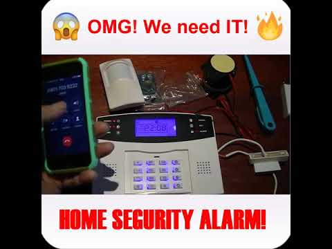 Home Security GSM Alarm Kit