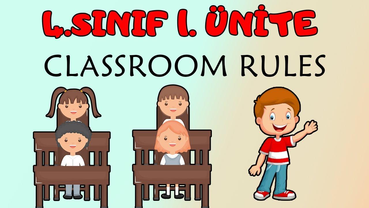 4. Sınıf İngilizce 5. Ünite  Kelimeleri Ve Konu Anlatımı ( My Day )