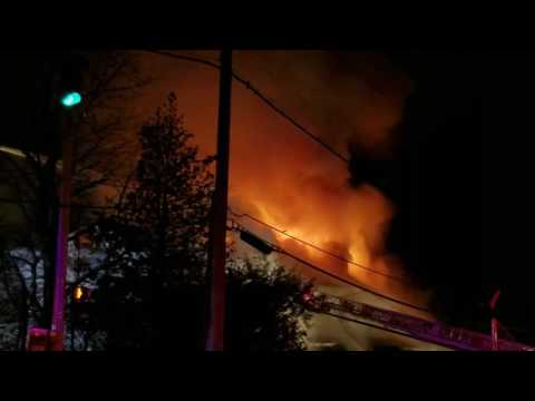 Incredibly Huge Fatal Fire Engulfs A Home In Scarsdale, New York