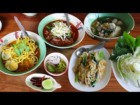 5 Delicious Thai Noodle Dishes You Need to Try in Thailand. Thai Noodle Tour