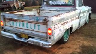 Rat rod 66 c10 walk around