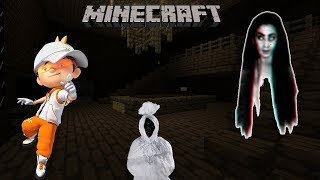 Boboiboy Cahaya dan Rumah Hantu - Minecraft Hantu