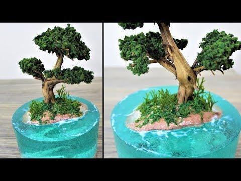 How to make a Dragon Island | Aquascape | diorama