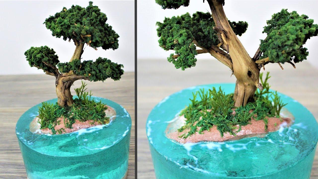 How to make a Dragon Island   Aquascape   diorama - YouTube