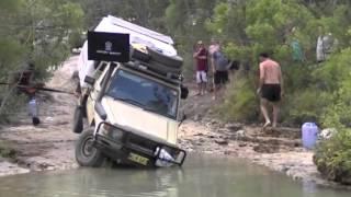 Cape York-August 2012-Sam Creek-Vehicle Rollover