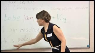 Английский на 5! Урок 3. Тема «Present Continuous Tense».  Изучаем урок за уроком!